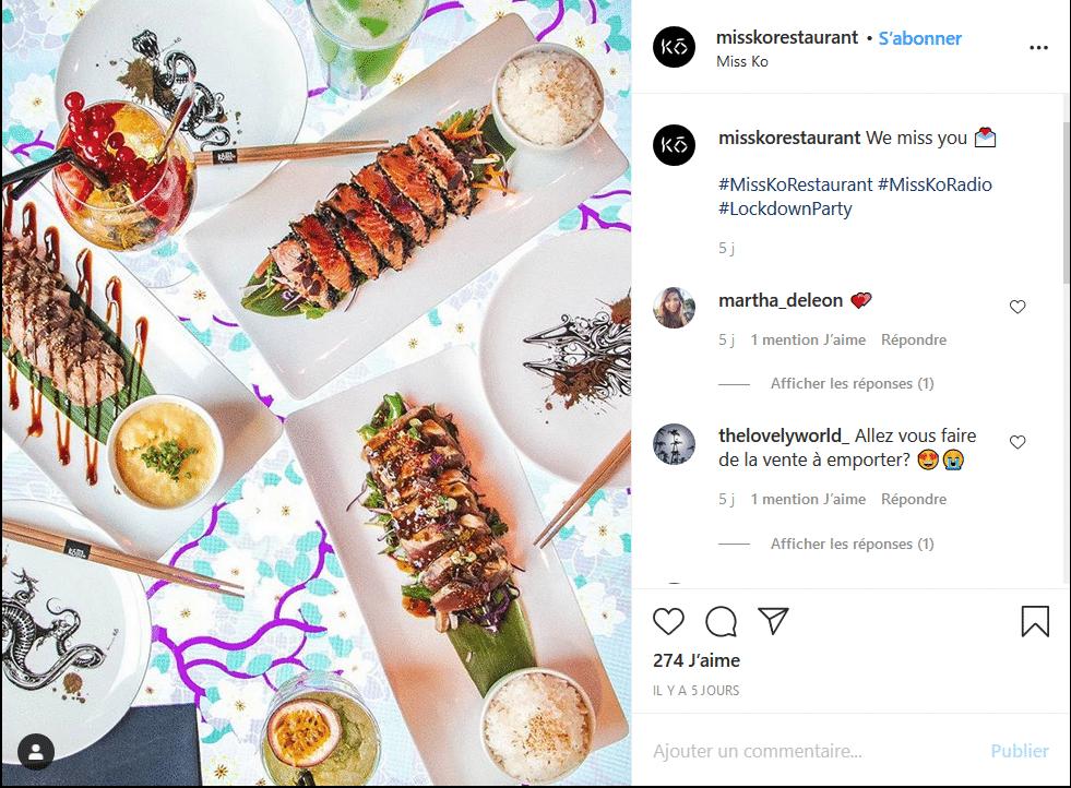 Cuisine japonaise - Fröken Ko