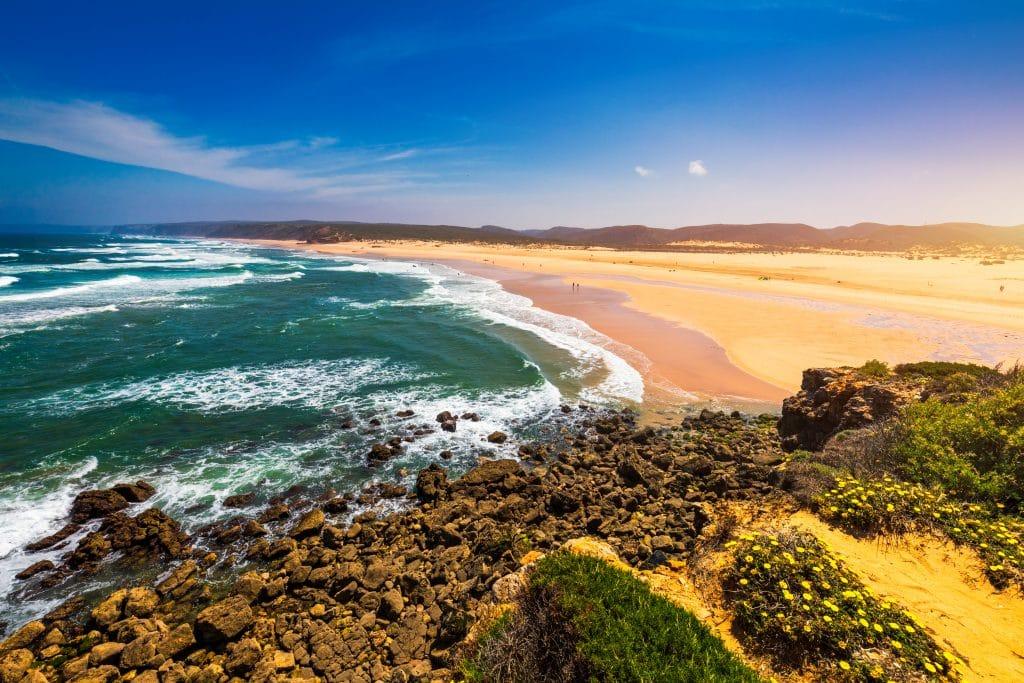 La plage de Bordeira – Aljezur