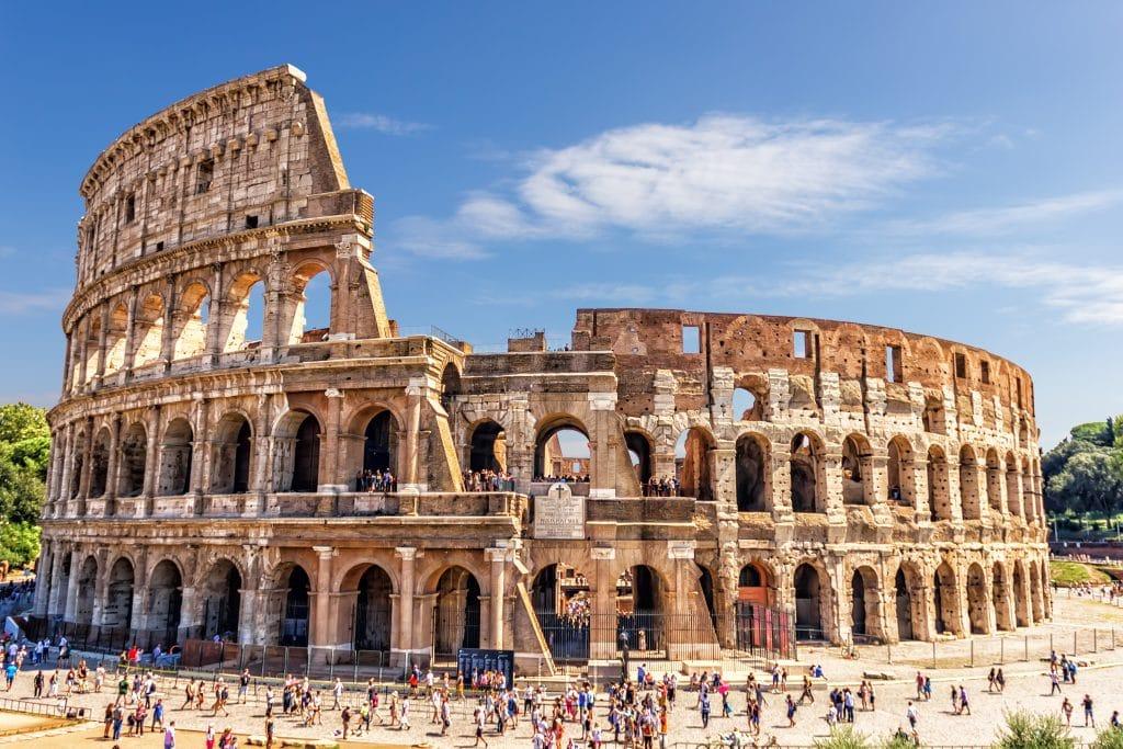 Prendre les meilleures photos du Colisée et du Forum romain depuis le sommet de la colline du Palatin