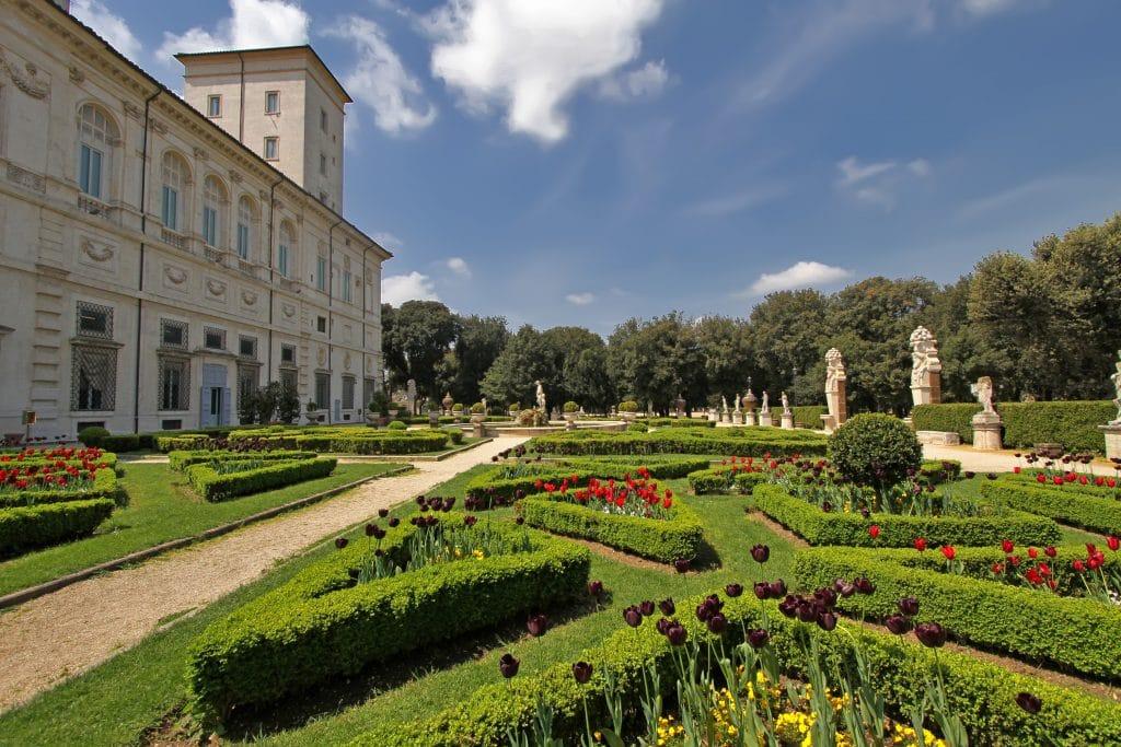 Pique-niquer dans le parc de la Villa Borghese