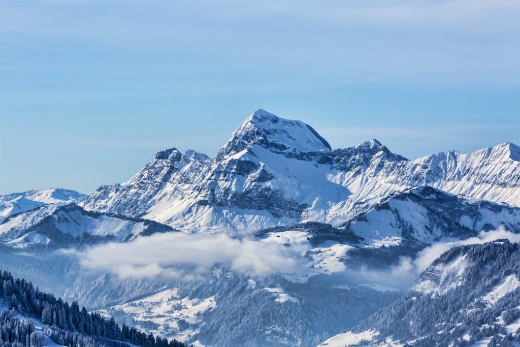 La découverte du Mont-Blanc