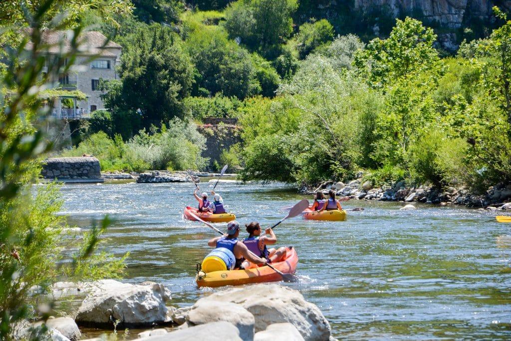 Quand faire la descente en Canoë-kayak de l'Ardèche ?