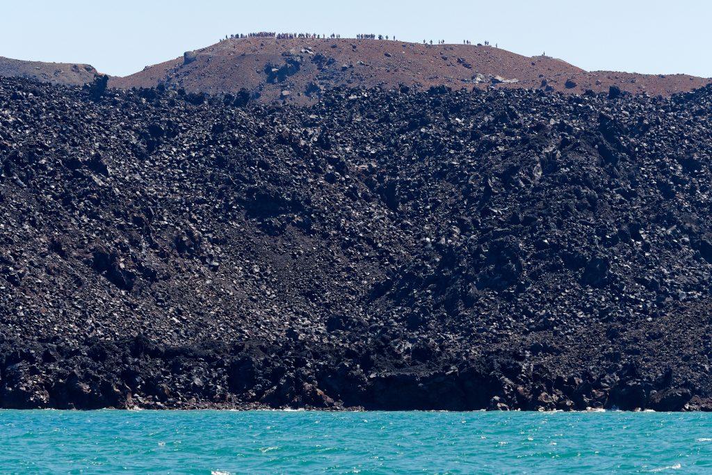 L'histoire de l'îlot volcanique de Néa Kaméni