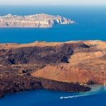 Néa Kaméni : l'île volcanique de Santorin