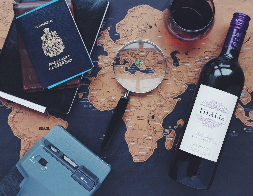 Passeport - Fond d'écran