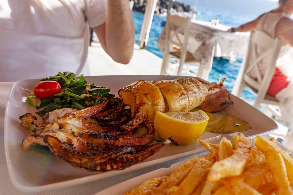 Où dîner à Santorin ?