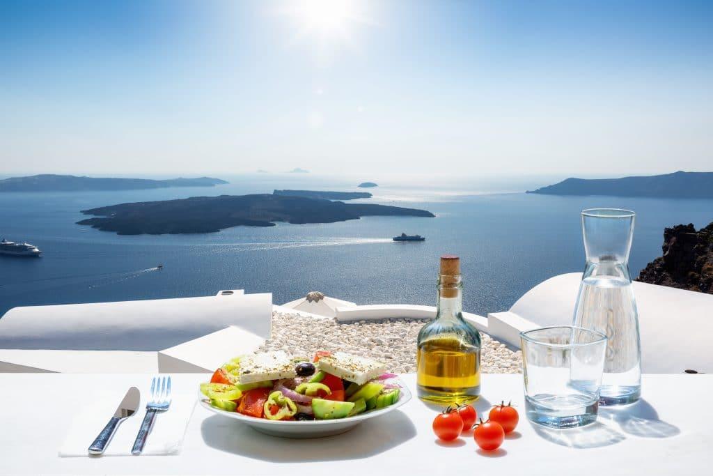 Où déjeuner à Santorin ?